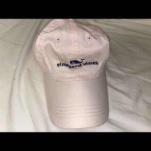 baby pink vv hat
